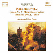 Piano Music Vol. 3 by Carl Maria von Weber