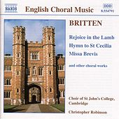 Play & Download Rejoice in the Lamb / Hymn to St. Cecilia by Benjamin Britten | Napster
