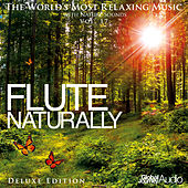 The World's Most Relaxing Music with Nature Sounds, Vol: 17: Flute Naturally (Deluxe Edition) by Global Journey