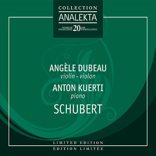 Play & Download Schubert by Angèle Dubeau | Napster