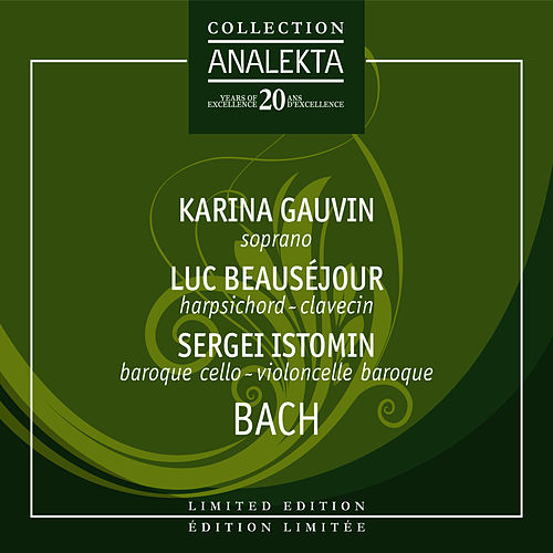 Play & Download Bach by Karina Gauvin | Napster