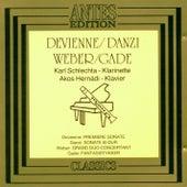 Play & Download Devienne, Danzi, Weber, Gade by Akos Hernádi Karl Schlechta | Napster