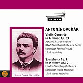 Dvořák: Violin Concerto, Symphony No. 7 by Various Artists
