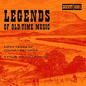 Legends Of Old-Time Music:Fifty Years Of County Records by Various Artists