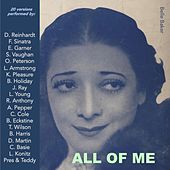 All of Me (20 versions performed by) by Various Artists