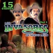 Play & Download 15 Éxitos, Vol. 1 by Los Invasores De Nuevo Leon | Napster
