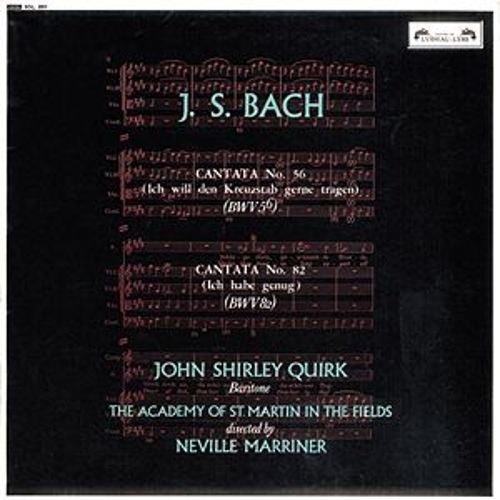 Play & Download Bach, J.S.: Cantatas Nos. 56 & 82 by Various Artists | Napster