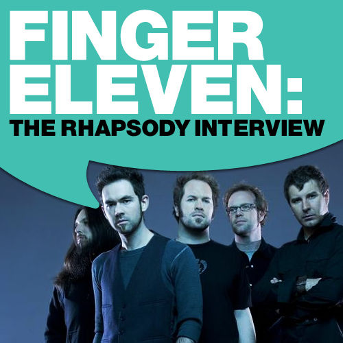 Play & Download Finger Eleven: The Rhapsody Interview by Finger Eleven | Napster