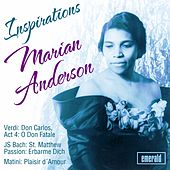Play & Download Inspirations by Marian Anderson | Napster