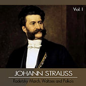 Johann Strauss, Vol. I: Radetzky March, Waltzes and Polka's by Wiener Promenaden Orchester