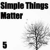 Play & Download Simple Things Matter, Vol. 5 by Various Artists | Napster