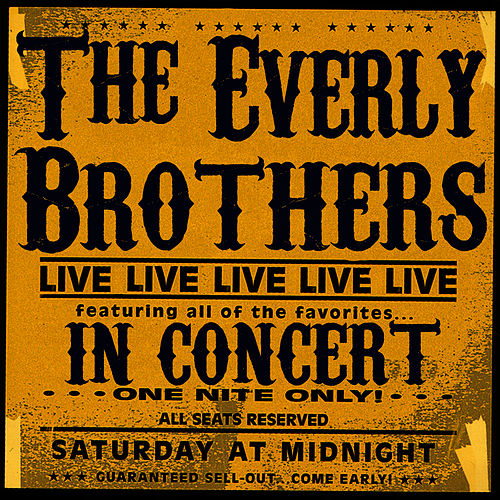 The Everly Brothers In Concert by The Everly Brothers