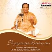 Thyagaraja Krithis, Vol. 1 by Dr. M. Balamuralikrishna
