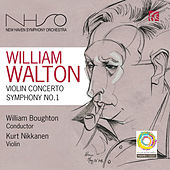 Walton: Violin Concerto & Symphony No. 1 by New Haven Symphony Orchestra