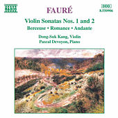 Violin Sonatas Nos. 1 and 2 by Gabriel Faure