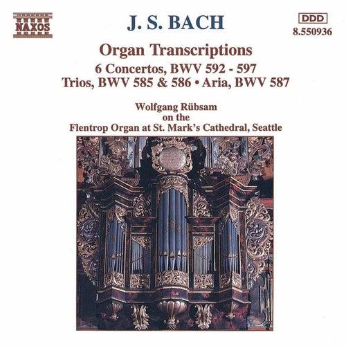 Play & Download Organ Transcriptions by Johann Sebastian Bach | Napster