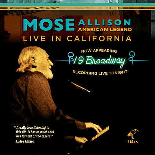 American Legend - Live in California by Mose Allison