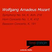 Red Edition - Mozart: Symphony No. 54, K. Anh. 216  & Bassoon Concerto, K. 191 by Various Artists