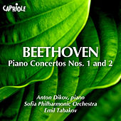 Play & Download Beethoven: Piano Concertos Nos. 1 & 2 by Anton Dikov | Napster