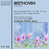 Play & Download Piano Concerto No. 1 in C, Op. 15 and Sonata No. 22 in F, Op. 54 by Boston Symphony Orchestra | Napster
