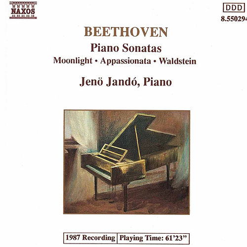 Piano Sonatas Nos. 14, 21 and 23 by Ludwig van Beethoven