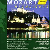 Mozart Highlights by Wolfgang Amadeus Mozart