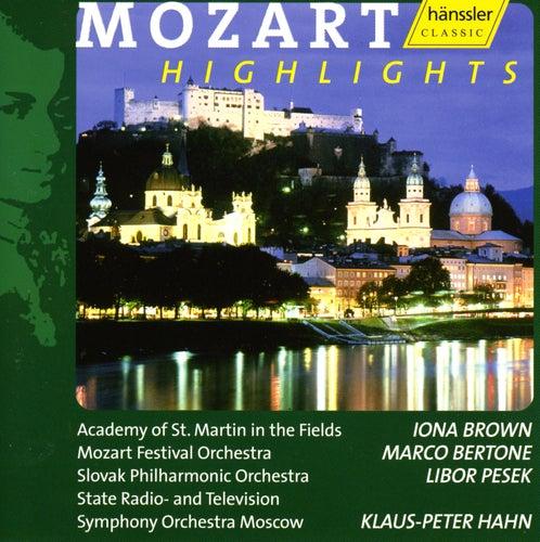 Mozart Highlights by Wolfgang Amadeus Mozart