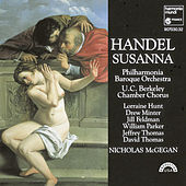 Play & Download Handel: Susanna by Nicholas McGegan Philharmonia Baroque Orchestra | Napster