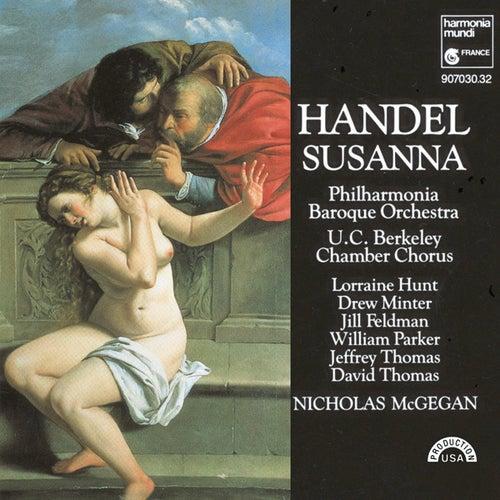 Play & Download Handel: Susanna by Nicholas McGegan Philharmonia Baroque Orchestra | Napster