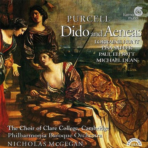 Play & Download Purcell: Dido and Aeneas by Nicholas McGegan Philharmonia Baroque Orchestra | Napster