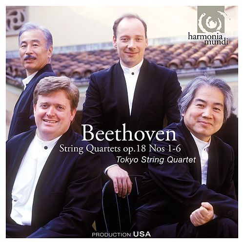 Play & Download Beethoven: String Quartets Op. 18, No. 1-6 by Tokyo String Quartet | Napster