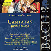 Play & Download J.S. Bach - Cantatas BWV 136-139 by Bach-Collegium Stuttgart | Napster