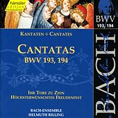 Play & Download J.S. Bach - Cantatas BWV 193, 194 by Bach-Collegium Stuttgart | Napster