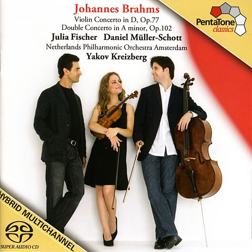 Play & Download BRAHMS: Violin Concerto / Double Concerto by Julia Fischer | Napster