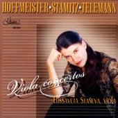 Hoffmeister / Stamitz / Telemann: Violin Concertos by Elissaveta Staneva