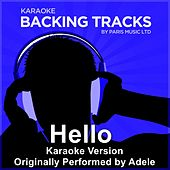 Hello (Originally Performed By Adele) [Karaoke Version] by Paris Music