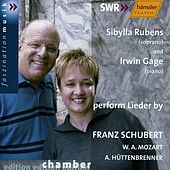 Play & Download F. Schubert, W. A. Mozart, A. Hüttenbrenner: Lieder by Sibylla Rubens | Napster