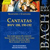 Play & Download J.S. Bach - Cantatas BWV 188, 190-192 by Bach-Collegium Stuttgart | Napster