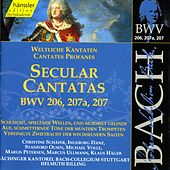 Play & Download J.S. Bach - Secular Cantatas BWV 206, 207a, 207 by Bach-Collegium Stuttgart | Napster