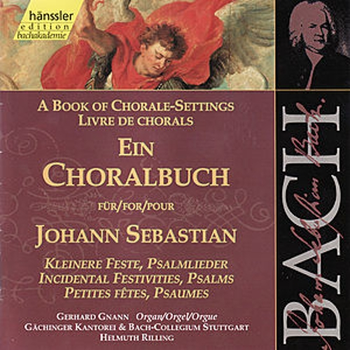 Play & Download Bach: A Book of Chorale Settings by Gerhard Gnann | Napster