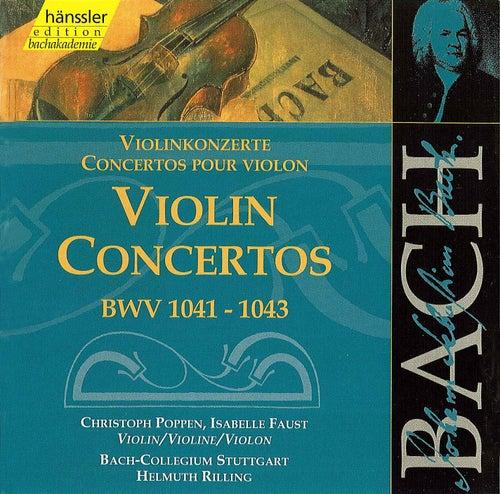 Bach: Violin Concertos, BWV 1041-1043 von Helmuth Rilling