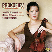 Play & Download PROKOFIEV: Violin Concertos Nos. 1 and 2 by Jennifer Frautschi | Napster