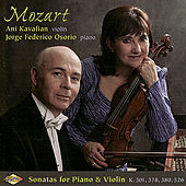 MOZART: Violin Sonatas, K. 301, K. 378, K. 380 and K. 526 by Ani Kavafian