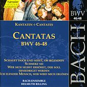 Play & Download J.S. Bach - Cantatas BWV 46-48 by Bach-Collegium Stuttgart | Napster
