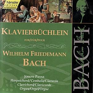 Klavierbüchlein for Wilhelm Friedemann Bach by Joseph Payne