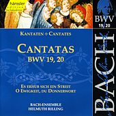 Play & Download J.S. Bach - Cantatas BWV 19, 20 by Bach-Collegium Stuttgart | Napster