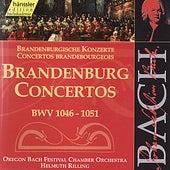 Johann Sebastian Bach: Brandenburg Concertos, BWV 1046 - 1051 by Oregon Bach Festival Chamber Orchestra