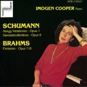 Schumann-Brahms by Imogen Cooper