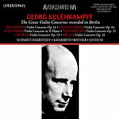 Play & Download The Great Violin Concertos Recorded in Berlin by Georg Kulenkampff | Napster