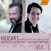 Mozart: Sonatas for Piano & Violin KV 304, 305, 380, 454 by Dmitry Sitkovetsky